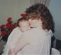 Mom Holding Me - Cropped