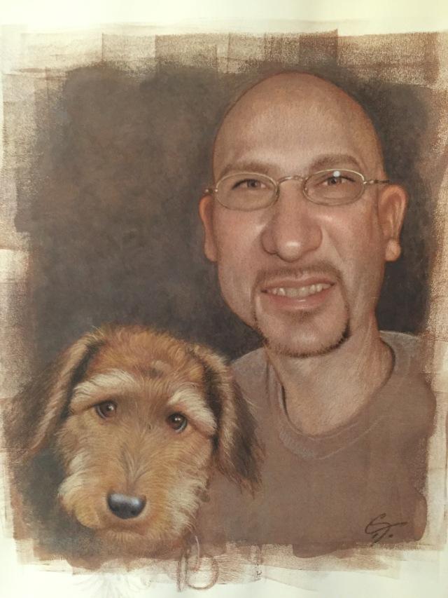 CF Payne Illustration of Dad