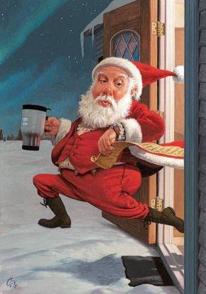 CF Payne Santa