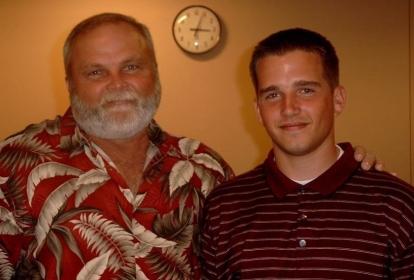 Jeff Sullivan and Dad