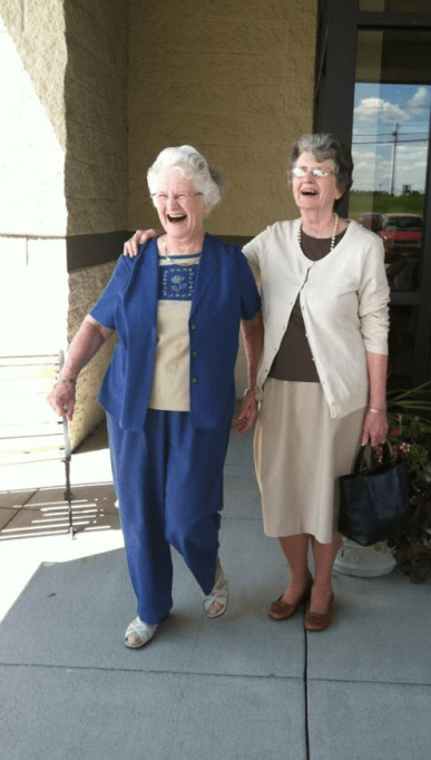 Auntie and Grandma