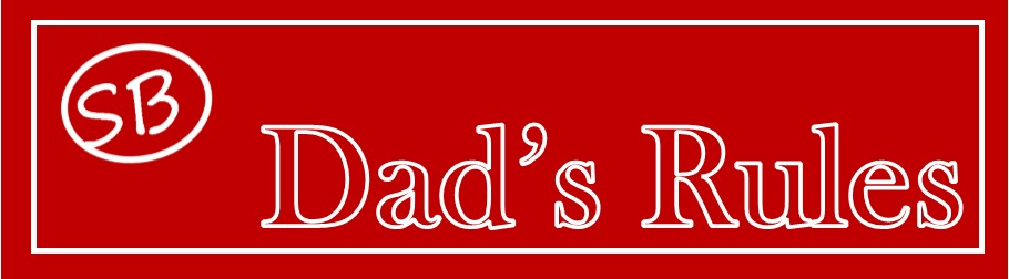 Dad's Rules Banner