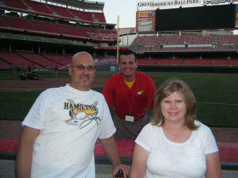 Dad Mom and I After All Star Game