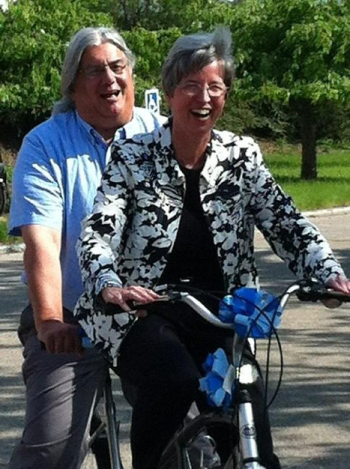 Peter and Marcia Bicycle