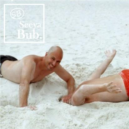 Dad Burying My Head in Sand with SB Logo