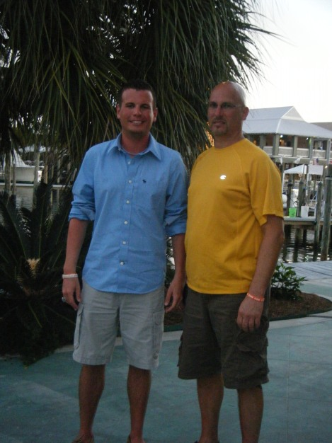 Dad and I in Gulf Shores